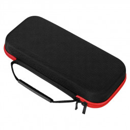 Portable Hard Shell Pouch Carrying Travel Game Bag for Switch - Red