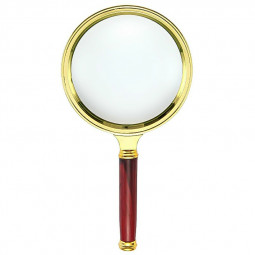 Perfect 10X Magnifier Magnifying Glass 90mm Handheld Jewelry Reading Glasses