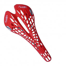 Vertu Road Mtb Fixed Mountain Bike Bicycle MTB Cycling Hollow Out Seat Saddle - Red