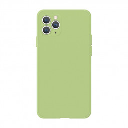 Shockproof Phone Cover Soft Silicone Gel Protective Case for iPhone 11 Pro - Green
