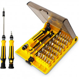 Mini Magnetic Drive Kit with Tweezers and Extension Rod for Repairing Phone/PC/Macbook/Clock/Game Console