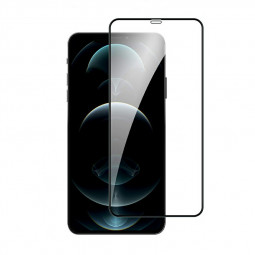 9D Full Cover Screen Protector Tempered Glass Black Edge for iPhone 12 Pro Max