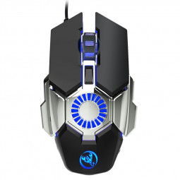 J700 6400dpi Wired Optical RGB Lighting Programmable Gaming Mouse Backlight for PC Laptop