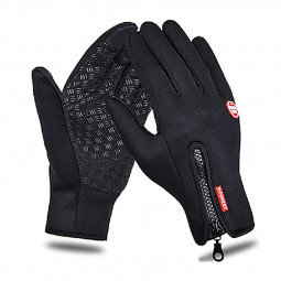 Winter Gloves Waterproof Thermal Touch Screen Thermal Windproof Warm Gloves - M