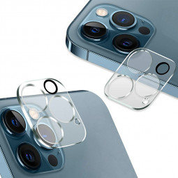 Tempered Glass Transparent Camera Lens Protector for iPhone 12 Pro