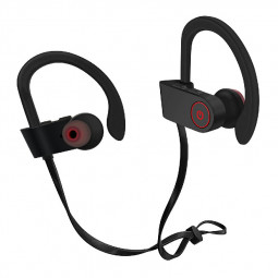 U8 Sports Wireless Bluetooth Earphones Ear Hook Build in Mic Running Earbuds