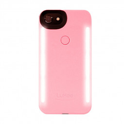 5.5 inch LED Light Decorated Phone Case Back Cover for iPhone 6 - Pink