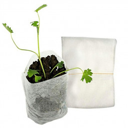 100Pcs Non-Woven Seedling Bag Plant Planting Bag Garden Gadgets