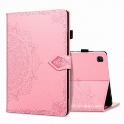 PU Leather Flip Stand Cover Case for Samsung Galaxy Tab A7 10.4 (2020) - Pink