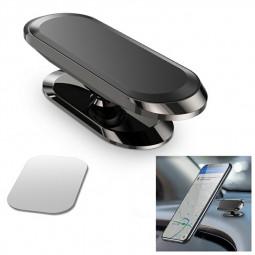 Magnetic in Car Mobile Phone Holder Mount for Phone Rotating 360 Degree - Black