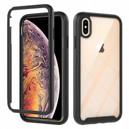 360 degree Full Body Slim Armor Case with Front Frame for iPhone XS Max