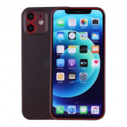 PC Frosted Back Cover Ultra Thin Gard Case for iPhone 12 Mini - Black