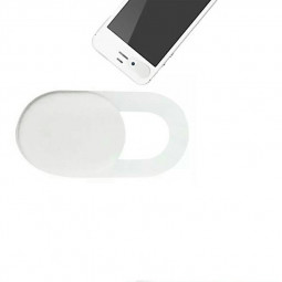 Laptop Webcam Cover Thin Camera Privacy Slider for Mobile Tablet - White