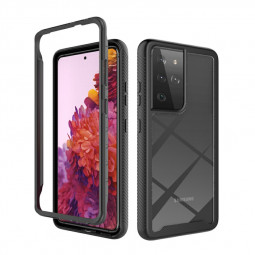 360 Degree Full Body Slim Armor Case with Front Frame for Samsung Galaxy S21 Ultra 5G