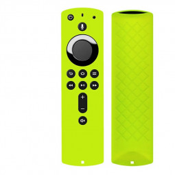 Remote Control Case Silicone Cover Shell For Amazon Fire TV Stick 4K Shockproof - Green
