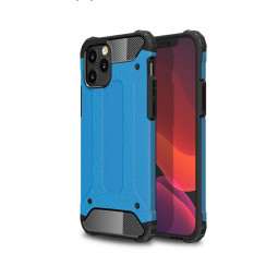Rugged Armor TPU + PC Protective Back Case for iPhone 12 Pro/iPhone 12 - Blue