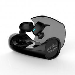 XHH-ES60 TWS Bluetooth Wireless IPX7 Stereo Headset - Black