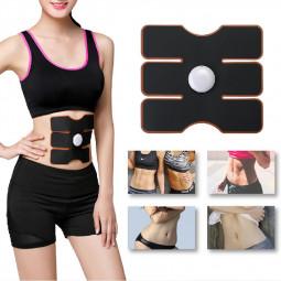 EMS Abdomen Muscle Stimulator Fitness Lifting Trainer Massage Black