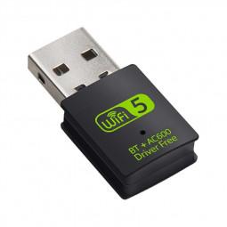 600Mbps USB WiFi Bluetooth Adapter Drive Free