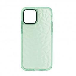 Slim Silicone Clear TPU Back Case for iPhone 12 Mini - Green