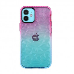 Gradient Color Slim Silicone TPU Back Case for iPhone 12 Pro Max