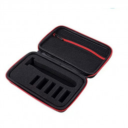Shaver Storage Carrying Case Box for Philips One Blade Pro Razor QP2520/90/70 - Red
