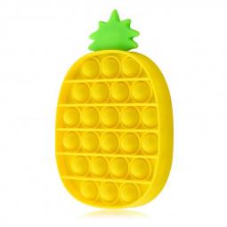 Pop it Fidget a Loud Side and a Quiet Side to Pop - Pineapple