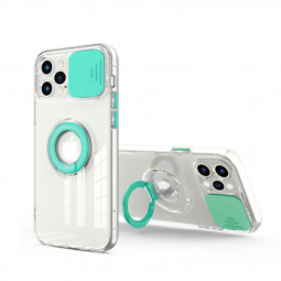 TPU Gel Rubber Shockproof Cover Protective Back Case for iPhone 12 Pro Max - Green