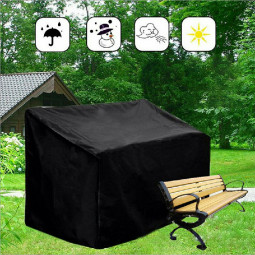 Large Waterproof Garden Patio Furniture Cover Covers Rattan Table Cube Outdoor for 4 Seat - 190x66x89cm
