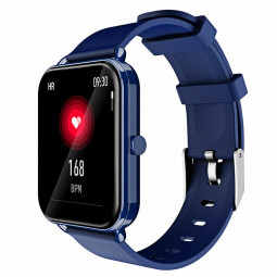 G16 16 inch Full Tentacle Smart Watch Fitness Tracker IPS Calories Heart Rate Sleep Monitor Wrist Band - Blue