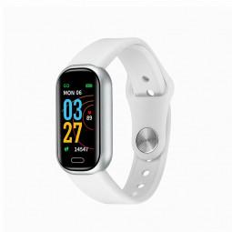 Y16 Bluetooth Call Smart Bracelet Fitness Tracker Smart Watch Wristbands - White