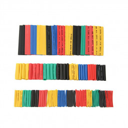164 pcs Heat-Shrinkable Tubing Color Electrical Insulation Waterproof