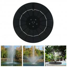 38W Solar Powered Fountain Pump with 6 Water Styles