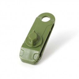 Tarp Clips Awning Clamp Set Tent Clip Locking Clamp Design for Tents - Army Green