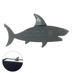 Lovely and Funny Stereo Bookmark Gift - Shark