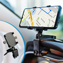 Multiple Use 360-Degree Rotating Phone Stand for Safe Driving