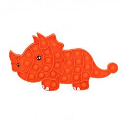 Pop it Fidget Game Among Us Anti Atress Products Triceratops - Orange