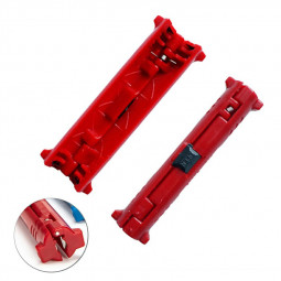 Cable Stripper Electric Wire Strippers Pliers Supplies for Electrician - Red