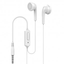 Q1 3.5mm Wired In-Ear Strong Bass-driven Stereo Sound Earphones - White