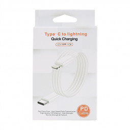 Type C to 8 pin Data Cable Packing Box Box Only Not Include Cable