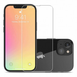 Full Screen Transparency Protective Tempered Glass for iPhone 13/13 Pro