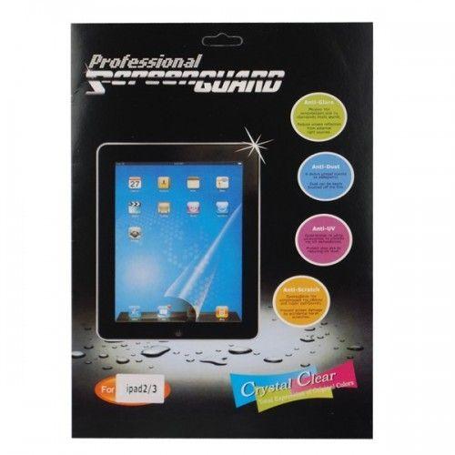 Crystal Film Screen Guard Protector Film for Apple iPad 2&iPad 3