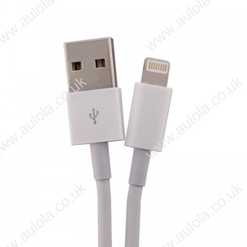 1m Bigger Thickened Strong Data Charging Cable for iPhone 5/6/6 Plus/7/8 Plus/X - White