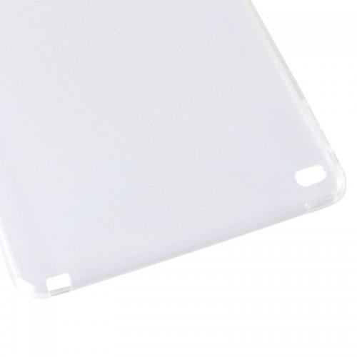 Clear Soft TPU Protective Back Case Cover Skin for iPad Mini 4 - Transparent