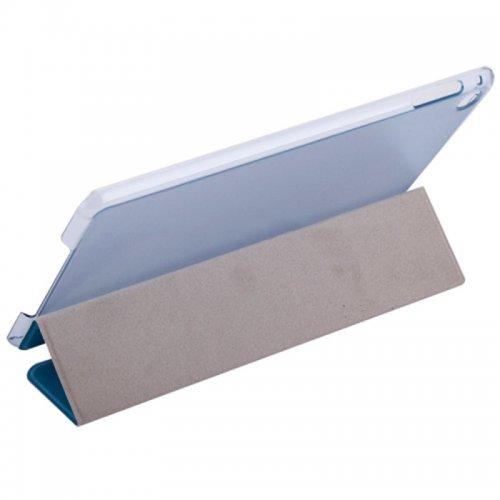 Slim PU Leather Magnetic Tri-Fold Smart Stand Cover Case for iPad Mini 1/2/3 - Blue