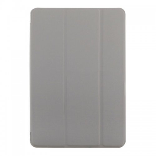 Slim PU Leather Magnetic Tri-Fold Smart Stand Cover Case for iPad Mini 4 - Grey