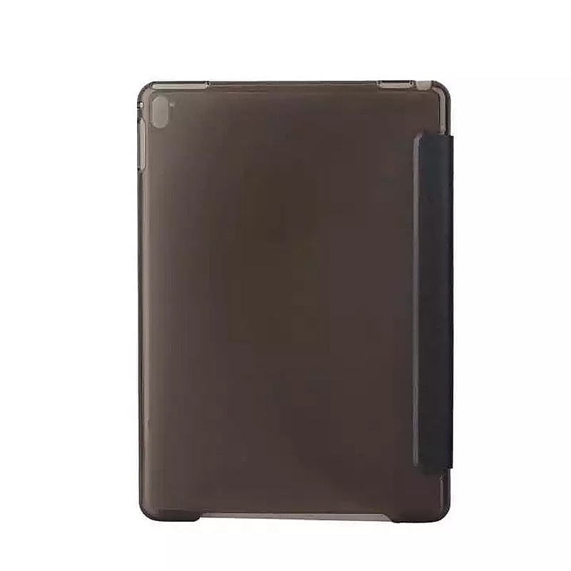 9.7 Inch Slim PU Leather Magnetic Tri-Fold Smart Stand Cover Case for iPad Pro - Black
