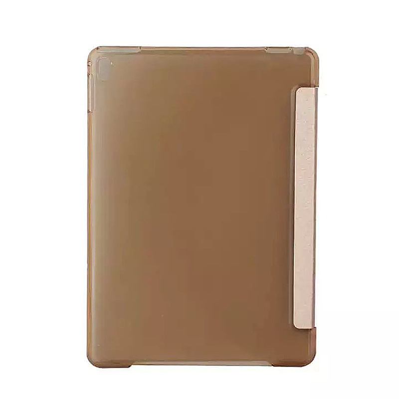 9.7 Inch Slim PU Leather Magnetic Tri-Fold Smart Stand Cover Case for iPad Pro - Golden