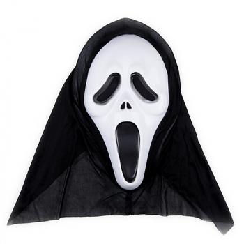Halloween Horror Skull Ghost Mask for Masquerade Cosplay - White Face