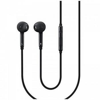3.5mm Earphone Handsfree Headphone for Samsung Galaxy S6 / S7 - Black